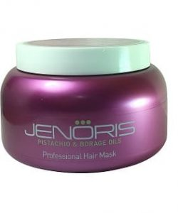 "מסכת פיסטוק ג'נוריס 500 מ""ל JENORIS Keratin Hair Mask"