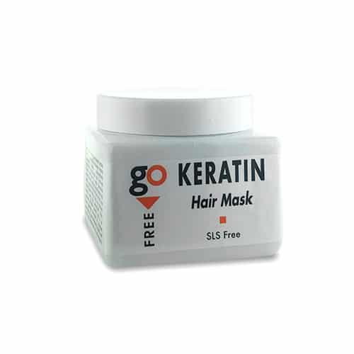 """מסכת קרטין ללא מלחים 500 מ""""ל Go Free Keratin mask"""