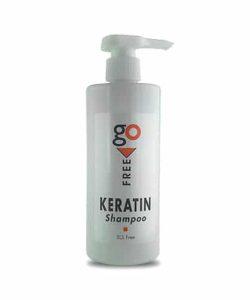 """שמפו קראטין ללא מלחים 500 מ""""ל Go Free Shampoo"""