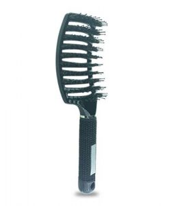 מברשת שיער ריטר מקצועית להתרת קשרים שחור - מברשות שיער - מסרק