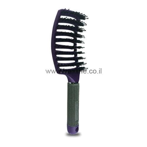 מברשת שיער ריטר מקצועית להתרת קשרים סגול