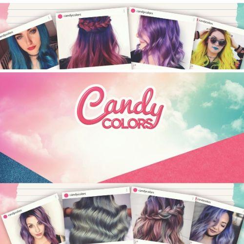 צבע אדום לשיער 200 מ_ל CANDY COLOR KIN - צבעים מקצועיים למספרה - ציוד למספרות - צבעים לשיער