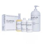 """ערכה למספרות OLAPLEX לשיקום השיער – בקבוק מספר 1 525 מ""""ל, שני בקבוקים מספר 2 525 מ""""ל ובקבוק ענק 2,000 מ""""ל מספר 2"""