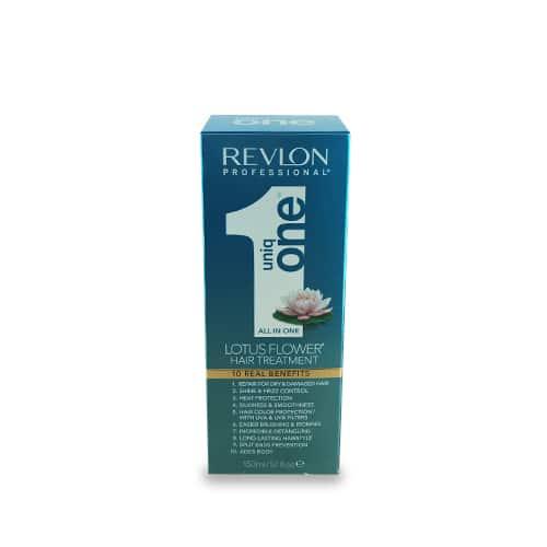 מסכה לשיער ללא שטיפה יוניק ואן uniq one- כחול רבלון REVLON