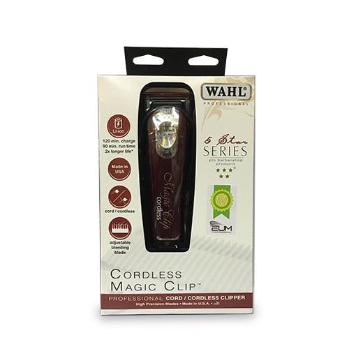 מגניב ביותר מכונת תספורת ווהל Wahl Cordless Magic Clip 8148 - hairline- הכל לספר YV-77