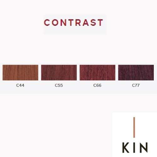 צבעים לשיער מקצועיים קין - קטלוג צבעים קין kin - ציוד למספרות