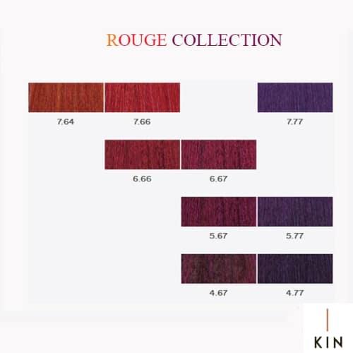 צבע לשיער מקצועי קין - קטלוג צבעים קין kin - ציוד למספרות