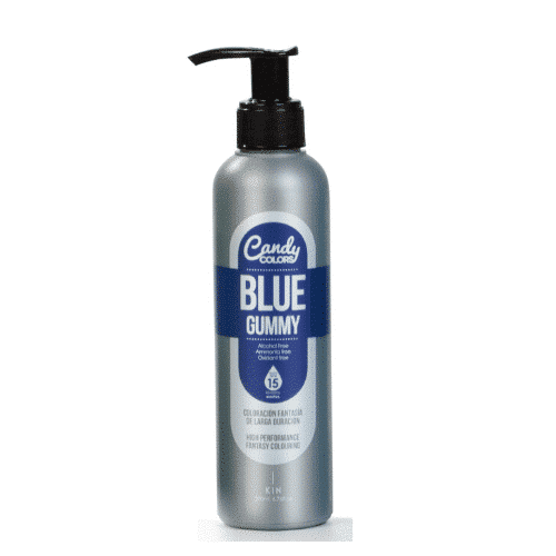 צבע כחול לשיער- קנדי קולרס קין - ציוד למספרות KANDY COLOR KIN 200 מ_ל - צבעים משוגעים לשיער
