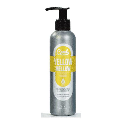 צבע צהוב לשיער- קנדי קולרס קין - ציוד למספרות-צבעים לשיער KANDY COLOR KIN 200 מ_ל-