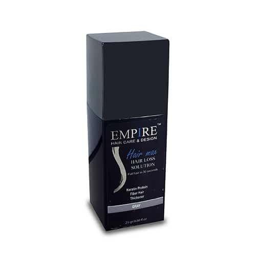 סיבי שיער הייר מקס 25 גרם EMPIRE- צבע אפור