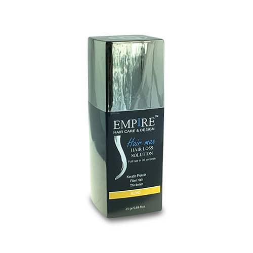 סיבי שיער הייר מקס 25 גרם EMPIRE- צבע בלונד