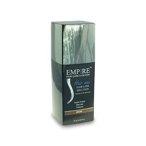 סיבי שיער הייר מקס 25 גרם EMPIRE- צבע חום