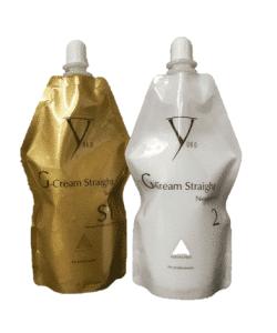 החלקה יפנית - יוקו סיסטם ערכת זהב S1 קרם + מנטרל - לשיער עדין או פגום