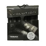 סט 5 מברשות טרמיקס TERMIX EVOLUTION לשיער עבה ועקשן