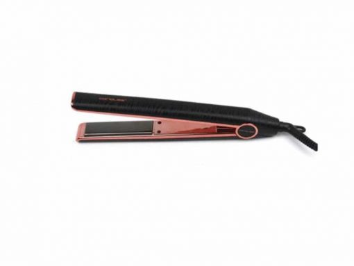 מחליק שיער טיטניום מקצועי קוריוליוס BLACK ZEBRA Corioliss C1