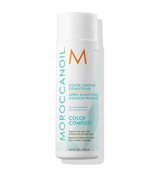 """מרכך להגנה על שיער צבע קולור קונטיניו שמן מרוקאי 250 מ""""ל MOROCCANOIL"""