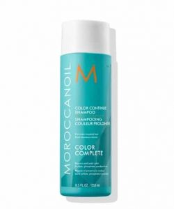 """שמפו להגנה על שיער צבע קולור קונטיניו שמן מרוקאי 250 מ""""ל MOROCCANOIL"""