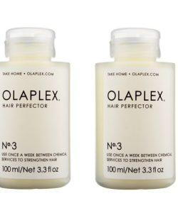 """שתי יחידות שיקום ביתי של השיער OLAPLEX מספר 3 100 מ""""ל"""