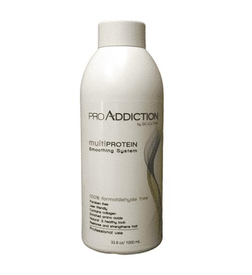 """החלקה אורגנית פרו אדיקשן לשיער טבעי pro addiction - ללא פורמלין 1000 מ""""ל"""