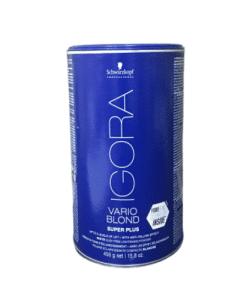 אבקת הבהרה לשיער איגורה וריו בלונד סופר פלוס 450 גרם שוורצקופף – SCHWARZKOPF