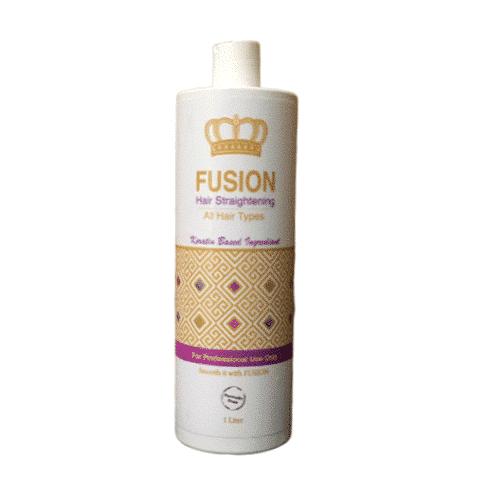 החלקת פיוז׳ן - החלקת שיער קראטין - החלקת קראטין - באישור משדר הבריאות 1000 מל