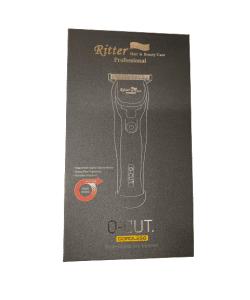 מכונת תספורת לפיניש נטענת O-CUT XSZ-10s Ritter ריטר שחור