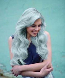 """צבע לשיער טונר קין לשיער בלונד או מובהר בגוון אפור מתכתי 60 מ""""ל KIN ללא אמוניה"""