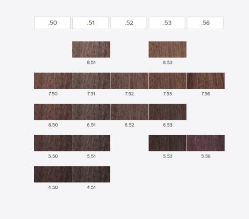 """צבע לשיער מקצועי קין 60 מ""""ל גווני KINESSENCES ללא אמוניה וללא PPD c בגווני חום"""